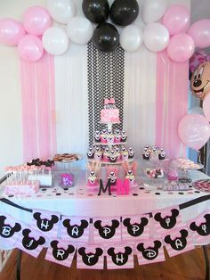 Minnie Mouse Sweet Table | Sweet Events London