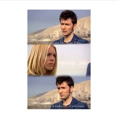 This scene is too perfect  Doctor Who and Rose Journey's End