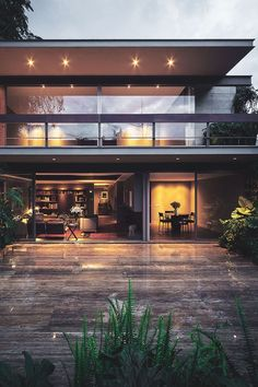 Enhance Your Senses With Luxury Home Decor Luxury Homes Interior, Luxury Home Decor, Cool House Designs, Modern House Design, Contemporary Design, Residential Architecture, Interior Architecture, Design Exterior, New Homes