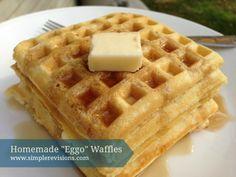 Homemade 'Eggo' Waffles | Simple Revisions