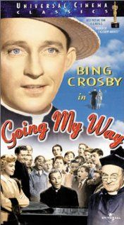 Going My Way: Youthful Father Chuck O'Malley led a colorful life of sports, song, and romance before joining the Roman Catholic clergy, but his level gaze and twinkling eyes make it clear that he knows he made the right choice. After joining a parish, O'Malley's worldly knowledge helps him connect with a gang of kids looking for direction and handle the business details of the church-building fund, winning over his aging, conventional superior, Father Fitzgibbon.