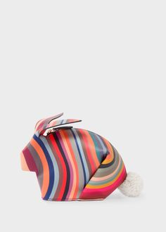 Women's 'Swirl' Print Rabbit Make-Up Bag Paul Smith