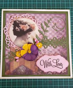 Gorgeous papers by Couture Creations Hearts Ease by Sharon Munday
