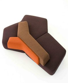 The Energy of Africa in the Rift Sofa by Patricia Urquiola - Moroso