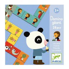 Djeco Spiel Riesen Domino Freunde - ein Klassiker für Kinder ab 3 Jahren, günstig auf Rechnung bestellen!