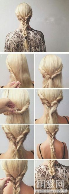 10 ways to braid medium-long hair