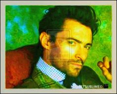 7-HUGH JACKMAN NLC MICHAEL ART PORTRAIT 2-001 by NLCARTSUBLIME.deviantart.com on @deviantART