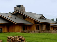 Standing Seam Roof on Ranch Style Residence
