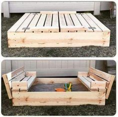 Coolest Sand Box Idea!