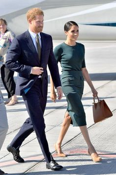 Meghan Markle Just Changed Into Her 3rd (and Best) Outfit of the Day