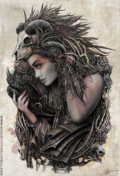 Ashura - o by Lovell-Art.deviantart.com on @deviantART
