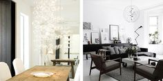 Glass bubble chandelier