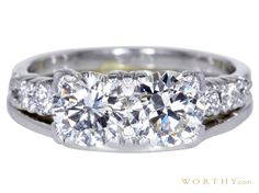 GIA 0.98 CT Round Cut Solitaire Ring Sold at Auction for $4,050