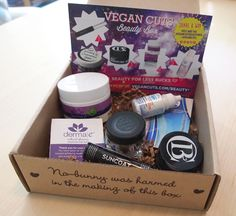 vegan cuts beauty box | Fall is here, and the Vegan Cuts Beauty Box is perfect pampering skin ...