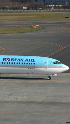 Korean airline plane