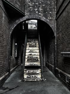 Old stairs, The Rocks, Sydney.