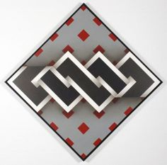 ABSTRACTOS DE OMAR RAYO Op Art, Sewing Projects, Projects To Try, Josef Albers, Illusion Art, Zentangle Patterns, Geometric Art, Logo Inspiration, Abstract Art