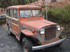 1950 4×4 Willys Station Wagon
