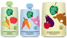 English Garden baby food range #packaging