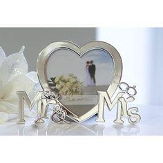 Bilderrahmen Mr. & Mrs. Herz Mr Mrs, Mirror, Inspiration, Furniture, Home Decor, Creative Money Gifts, Gift Wedding, Newlyweds, Marriage Anniversary