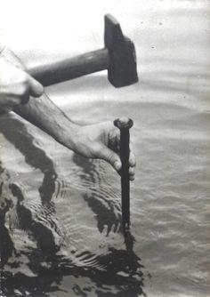 Fabrizio Plessi, 'Un Buco Nell' Acqua (A Hole in the Water), Action', 1973