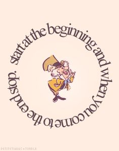 My adventures in Wonderland began when I followed the White Rabbit down the rabbit hole.