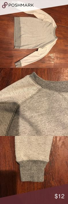 Knitted sweater shirt Knitted sweater shirt, Size XS,  baseball sleeves, 21MEN 21men Sweaters Crewneck