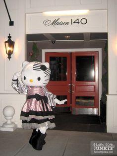 Sephora Hello Kitty Noir Suite at Maison 140, Beverly Hills   Hello Kitty Junkie