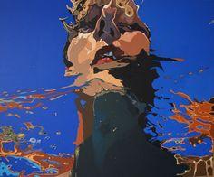 acrylic on canvas 100 x 120 cm