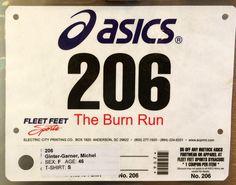 6th 5K - BURN RUN.  November 10, 2013.  East Syracuse, NY.  Time 31:21min (10:06).