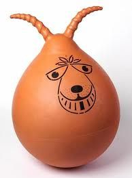 Space hopper - more childhood memories I can share with them  #Motherhoodmeans