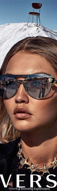 Gigi Hadid 4 Versace Campaign