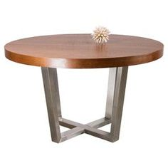 Cory Dining Table in Warm Wood