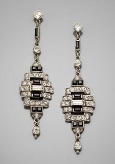 BEN-AMUN Linear Deco Earrings