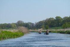 Warnow-Durchstich der Flussschleife