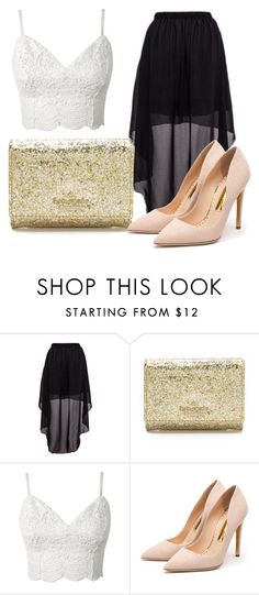 """Untitled #896"" by filhote-1207 on Polyvore featuring Kate Spade and Rupert Sanderson"