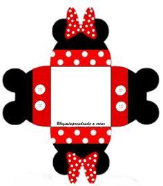 Cajita abierta Micky/Minnie