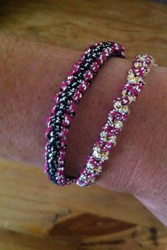 Easy friendship bracelet tutorial - going to use it for a Valentine's project