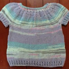 """""""Ice Lolly T-Shirt"""" Pattern from Ravelry"""