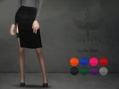 The Sims Resource: Lydia Skirt by Sentate • Sims 4 Downloads