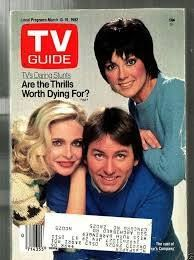 TV Guide - March 1982 Back Issue for sale online Priscilla Barnes, John Ritter, Celebrities Who Died, Young John, Wayne's World, Three's Company, I Love Lucy, Tv Guide, Classic Tv