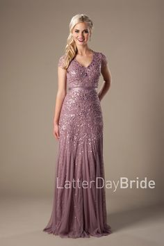 Modest prom dresses for every budget at LatterDayBride and Prom. Modest Homecoming Dresses, Modest Formal Dresses, Formal Gowns, Bridesmaid Dresses, Bride Dresses, Bridesmaids, Casual Dresses, Inexpensive Dresses, Prom Dress Shopping