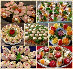 Przepisy na jajka i sałatki wielkanocne - Blog z apetytem Easter Recipes, Holiday Recipes, Polish Recipes, Aga, Pasta Salad, Potato Salad, Cake Recipes, Vegetables, Cooking