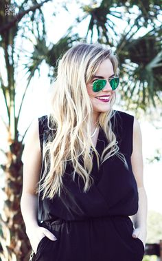 Relaxed Blonde Curls #StyleItYourself #ad