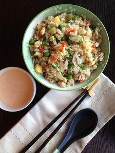 Hibachi Rice with Yum Yum Sauce