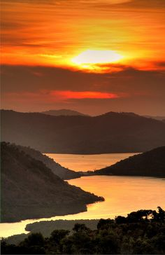 Coron Sunset Taken from the top of Mount Tapyas, feet above sea level. Coron, Palawan, Philippines By Perry Aragon Palawan Island, Coron Palawan, Nature Pictures, Beautiful Pictures, Places Around The World, Around The Worlds, What A Beautiful World, Philippines Travel, Beautiful Islands