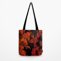 It's Fall II Tote Bag #tote #bag @society6