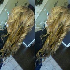 Full blonde tones