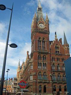 St Pancras Station by m tabb, via Flickr