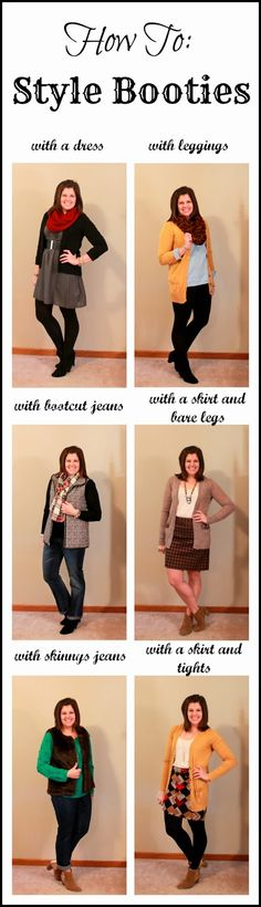 My New Favorite Outfit: How To: Style Booties